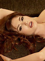 Shay Laren makes love a to a lucky loveseat